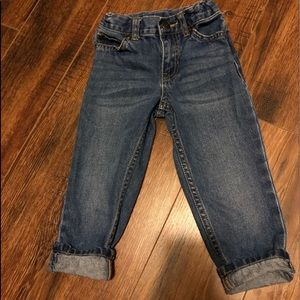 Toddler jeans! Cute perfect condition